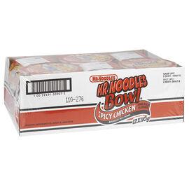 Mr. Noodles Bowl Case - Spicy Chicken - 12 x 110g