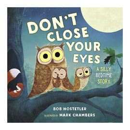 Don't Close Your Eyes: A Silly Bedtime Story by Bob Hostetler