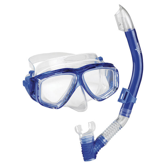 Speedo Mask & Snorkel Set - One Size - Assorted Colours