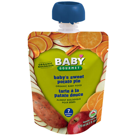 Baby Gourmet Baby Food Stage 2 - Sweet Potato Pie - 128ml