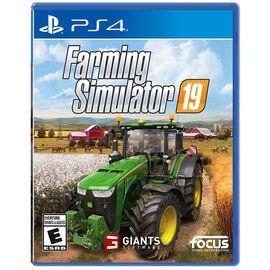 PRE ORDER: PS4 Farming Simulator 2019