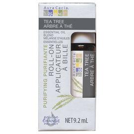 Aura Cacia Roll On Essential Oil - Tea Tree - 9.2ml