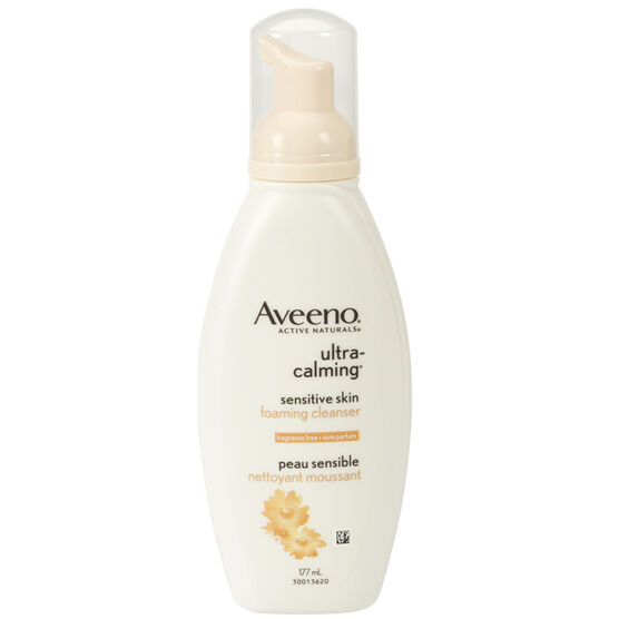 Aveeno Active Naturals Ultra-Calming Foaming Cleanser - 177ml