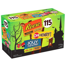 Hershey Reese, Oh Henry & Jolly Rancher - 115's