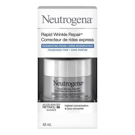 Neutrogena Rapid Wrinkle Repair Regenerating Cream - Fragrance Free - 48ml