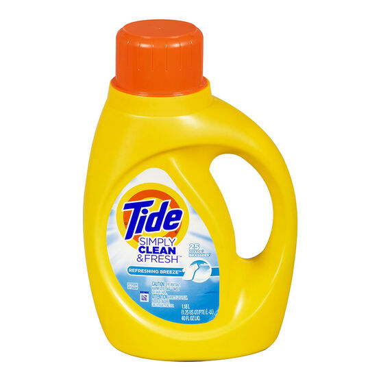 Tide Simply Clean & Fresh Laundry Detergent - Refreshing Breeze - 1.18L