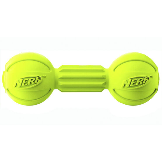Nerf Dog Barbell Chew - Green - VP6729