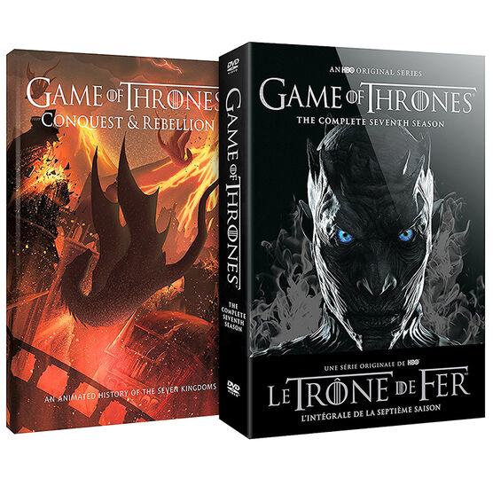 Game of Thrones: Season 7  Limited Edition (with Conquest & Rebellion) - DVD