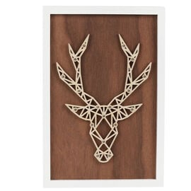 London Drugs LED Wall Décor Frame - Deer - 30 x 20 x 4cm