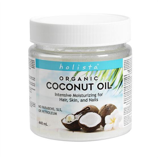 Holista Organic Coconut Oil Intense Moisturizing - 440ml