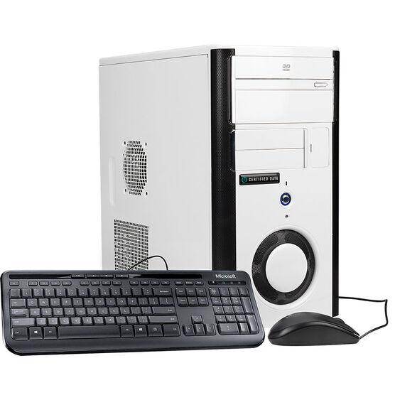 Certified Data Intel Core i5-7400 Desktop Computer - 240GB SSD