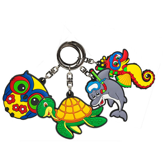 London Drugs Small Animal Key Chains - Assorted