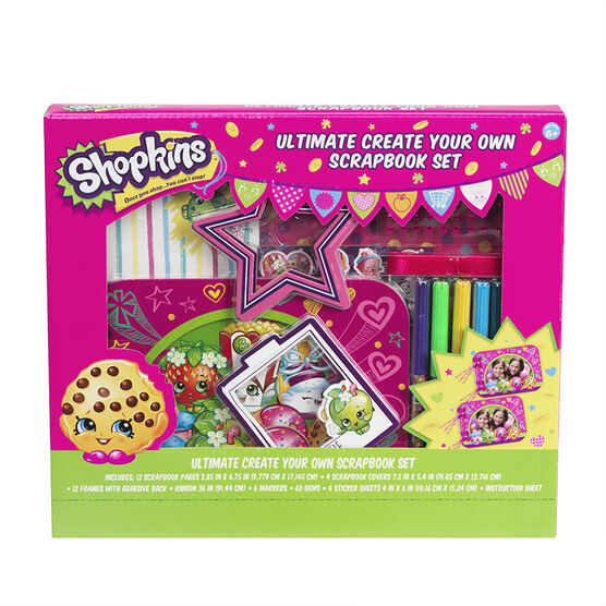 Shopkins Ultimate Create Your Own Scrapbook