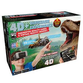 ReTrak 4D Augmented Reality Cards with VR Headset - Dinosaur - ETVRARDINO
