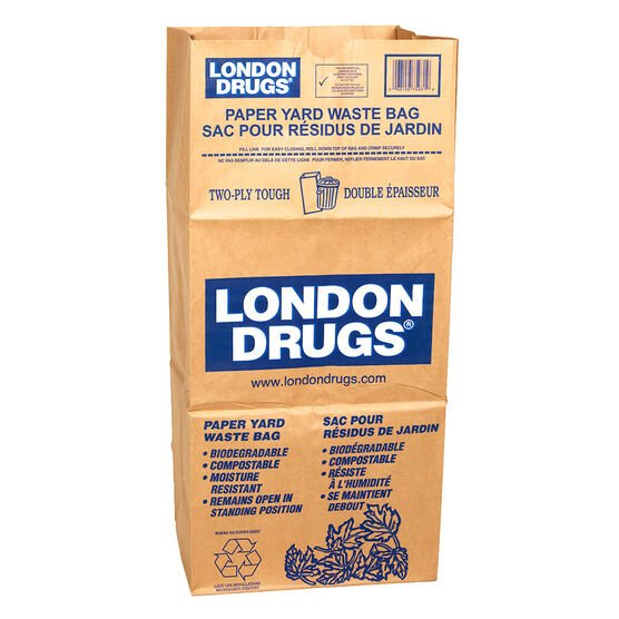 London Drugs Lawn and Leaf Bags - 5 pack