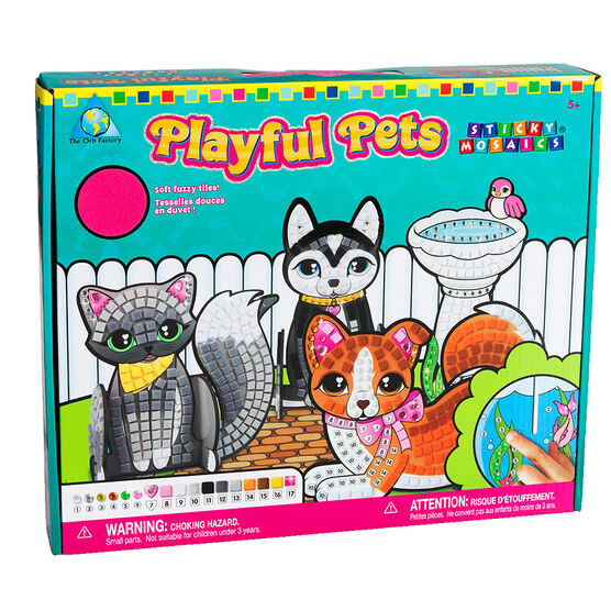 Sticky Mosaic Playful Pets