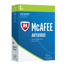 McAfee 2017 AntiVirus - 1 PC