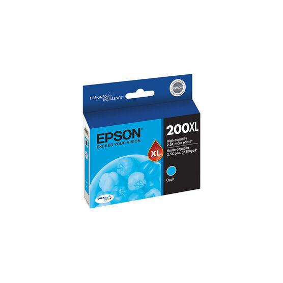 Epson 200XL High-Capacity Ink Cartridge - Cyan - T200XL220-S