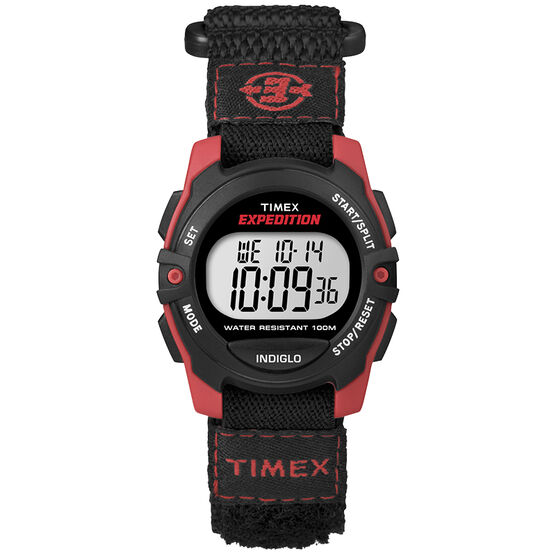 Timex Expedition Watch - Black/Red - T49956GP