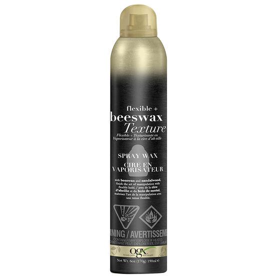 OGX Beeswax Texture Spray Wax - 190ml