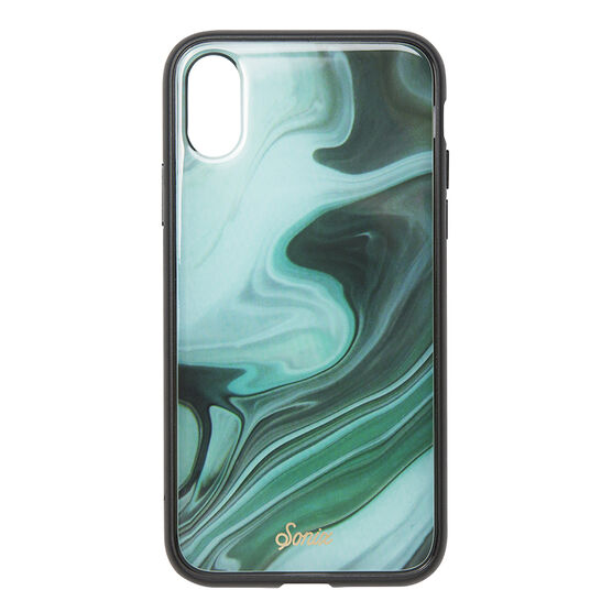 Sonix Marble Case for iPhone X - Jade - SX27601490011