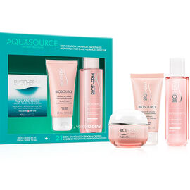 Biotherm Aquasource Cream Set - Dry Skin - 3 piece