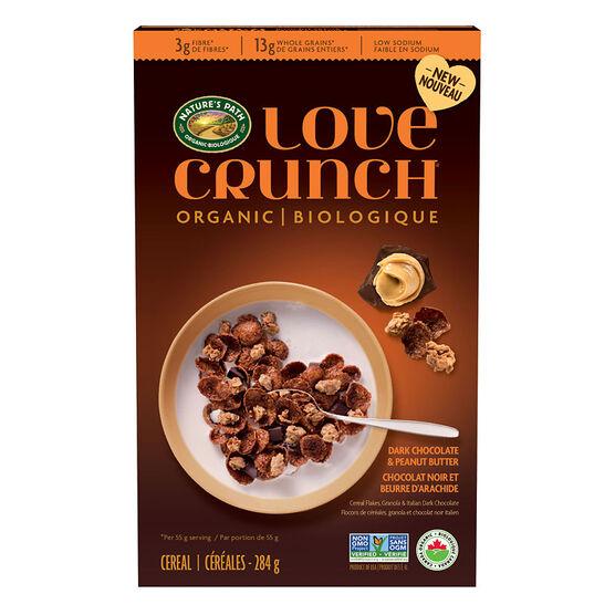 Nature's Path Love Crunch - Dark Chocolate & Peanut Butter - 284g