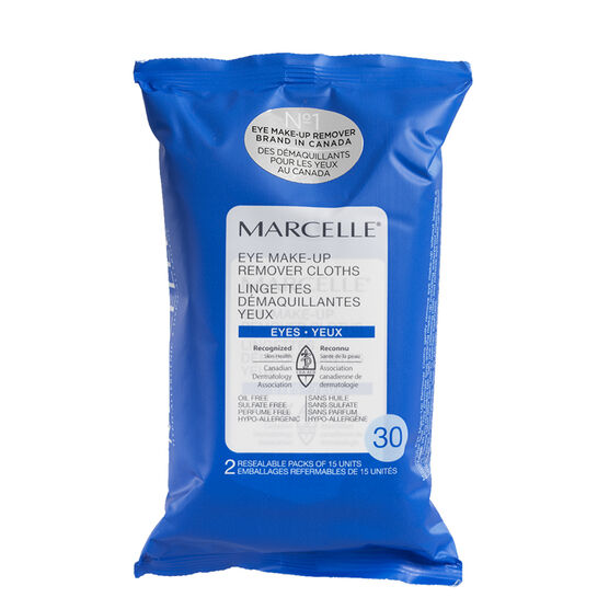 Marcelle Eye Make-Up Remover Cloths - 30's