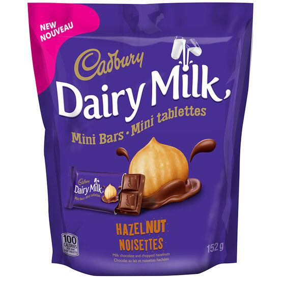 Cadbury Dairy Milk Mini Bars - Hazelnut - 152g