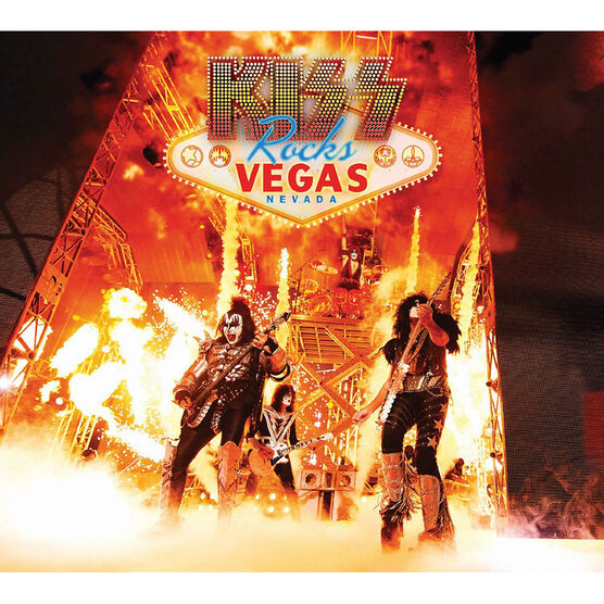 Kiss - Kiss Rocks Vegas - DVD