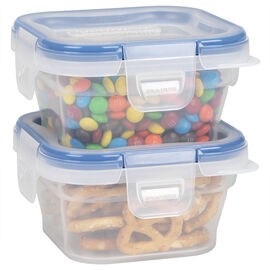 Snapware Total Solution Plastic Food Storage - Small Square - 2 pack