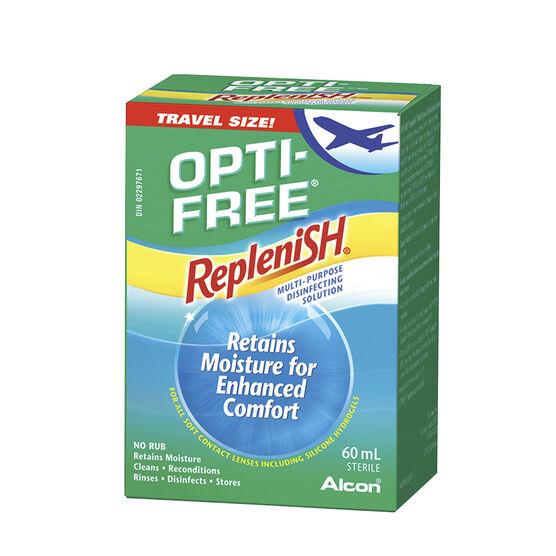 Alcon Opti Free Replenish Multi-Purpose Disinfecting Solution - 60ml