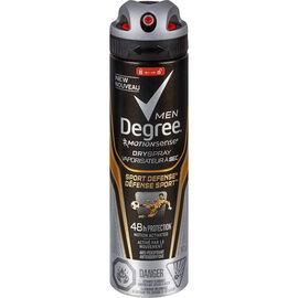 Degree Men MotionSense Sport Defense Dry Spray Antiperspirant - 107g