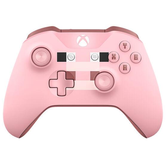 Microsoft Xbox Wireless Controller - Minecraft Pig Pink - WL3-00052