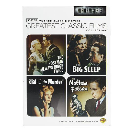 TCM Greatest Classic Films Collection: Murder Mysteries - DVD