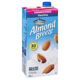 Blue Diamond Almond Breeze - Vanilla - Unsweetened - 946ml