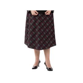Silvert's Women's Plaid Perfection Wrap Skirt