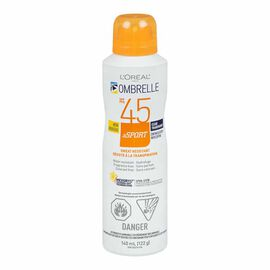 Ombrelle Continuous Spray Sport Sunscreen - SPF 45 - 122g