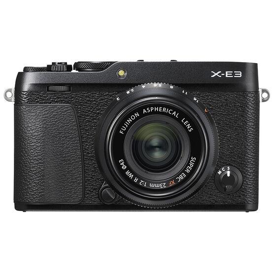 Fujifilm X-E3 with 23mm f/2 WR Lens - Black - 600019129
