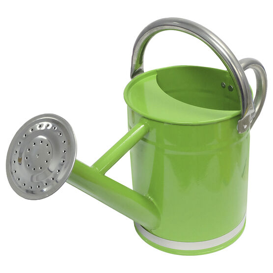 Green House Galvanized Watering Can - Green - 1.7L