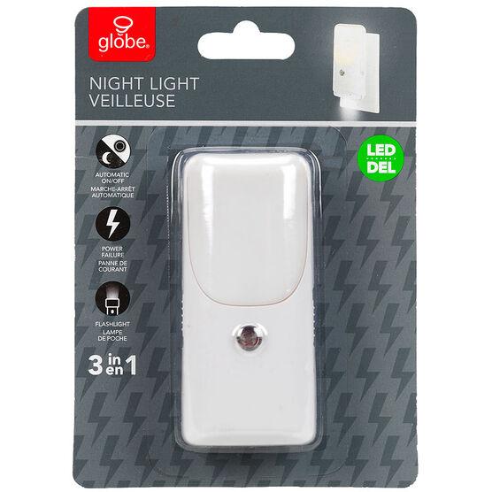 Globe LED Night Light 3 in 1