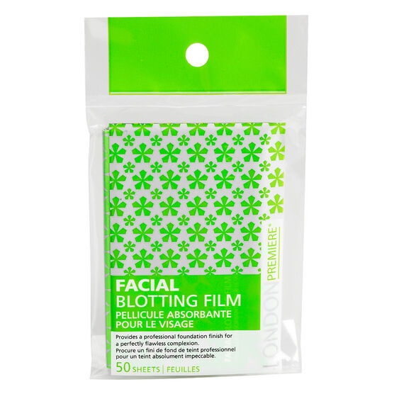 London Premiere Facial Blotting Film - 50 sheets
