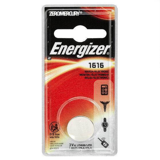 Energizer ECR 1616 standard battery - CR1616 - Li-manganese