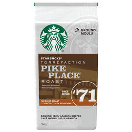 Starbucks Coffee - Pike Place Medium Roast - Ground - 566g