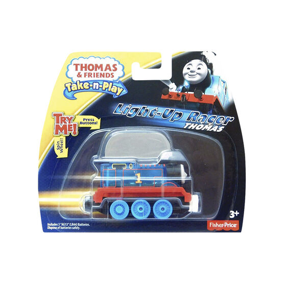 Fisher Price Thomas & Friends Take 'n Play Light Up Racer - Assorted