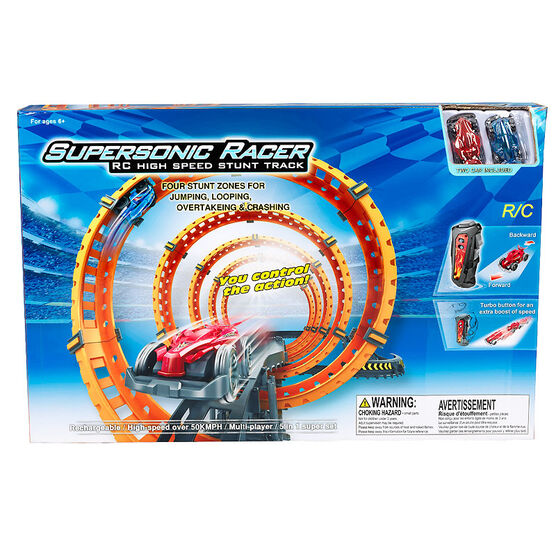 Supersonic Racer - RC High Speed Stunt Track