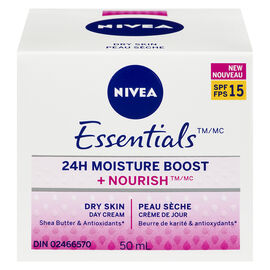 NIVEA ESSENTIALS 24HR DAY CR 50ML
