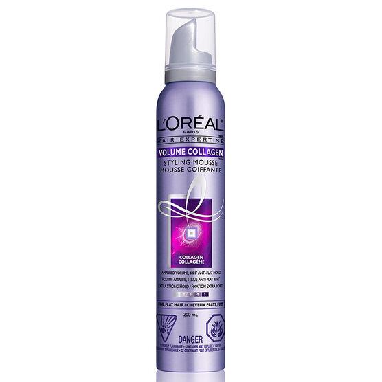 L'Oreal Volume Collagen Mousse - 200ml