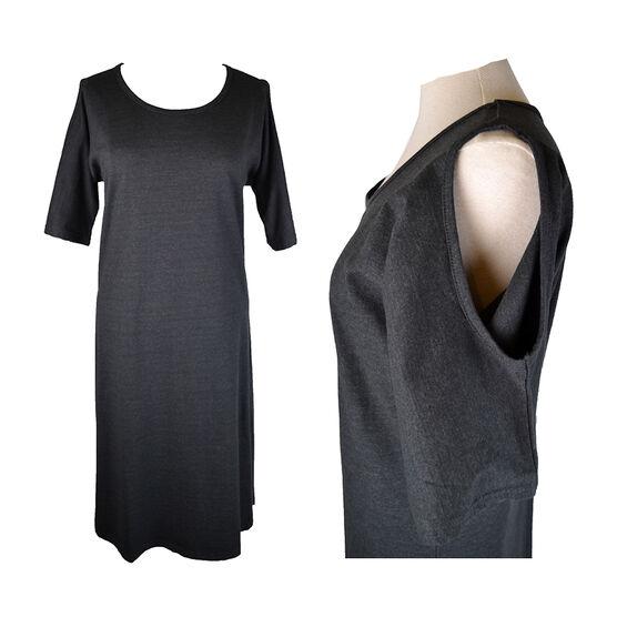 Lava Exposed Shoulder Dress