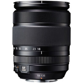 Fuji XF18-135mm F3.5-5.6 R LM OIS WR Lens - Black - 600013822